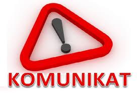 Komunikat o dniu wolnym od pracy dla pracowników PCPR w Bolesławcu